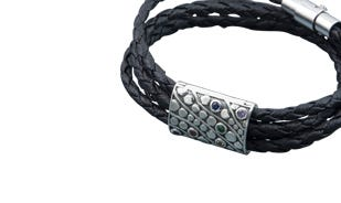 Rainbow spectrum: X versatile necklace cum bracelet