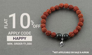 Flat 10% off on Rs.1500 and above