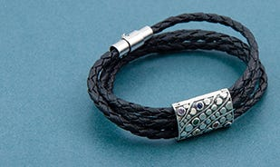 Rainbow spectrum: X versatile necklace cum bracelet for men and women