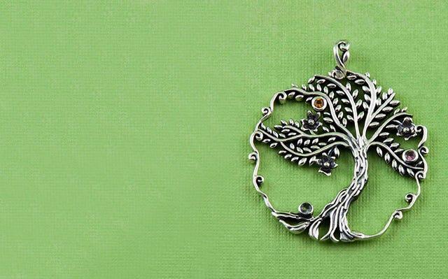 Wishing Tree Pendant for Women
