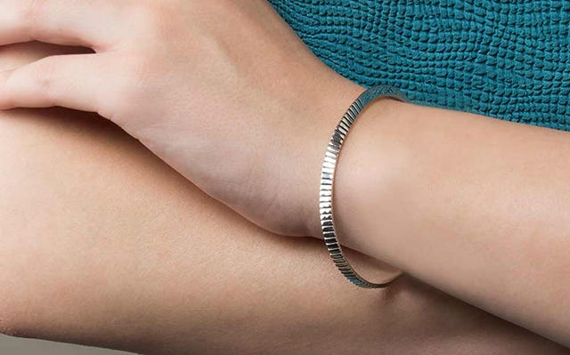 Message Cuff Bangle - Mind Body Soul