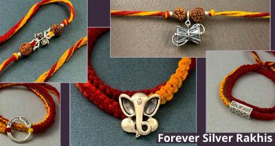 Raksha Bandhan 2021: Forever Silver Rakhis for You, Handcrafted With Love