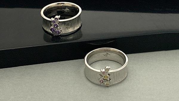 Newest Design Unbroken Silver Band Ring