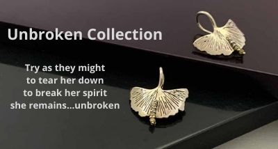 Bent, scarred, cut, bruised …but never … Broken