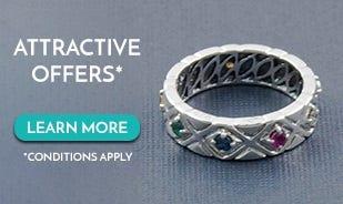 Navratna Gemstone Band Ring