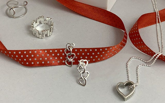 Silver Valentine's Collection
