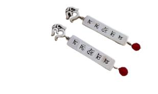 Om Namah Shivaya Earrings