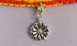 Beautiful Silver Rakhis for Your Sister