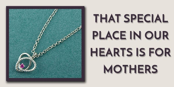 Always in My Heart Silver Necklace by Fourseven