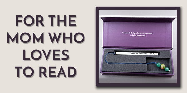Silver Bookmarks Say I Love You to Mom this Mother's Day