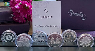 Pure 999 Silver Coins for Gifting | Fourseven Blog